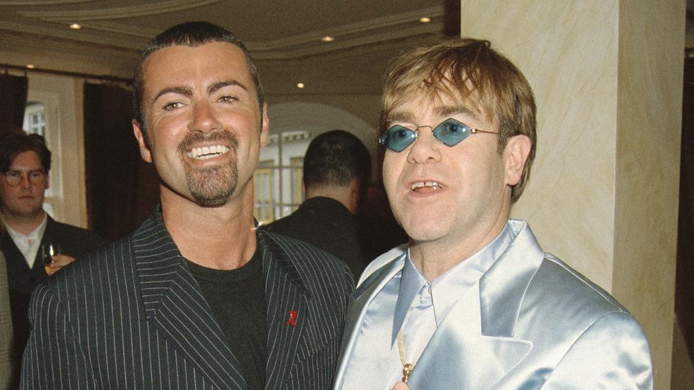 George Michael Elton John 1995