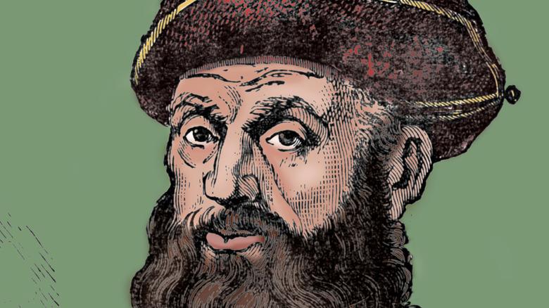 Portrait of Ferdinand Magellan