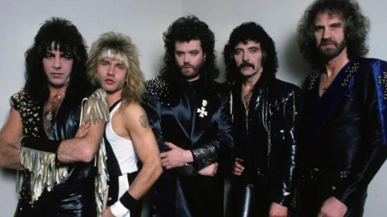 Black Sabbath band shot