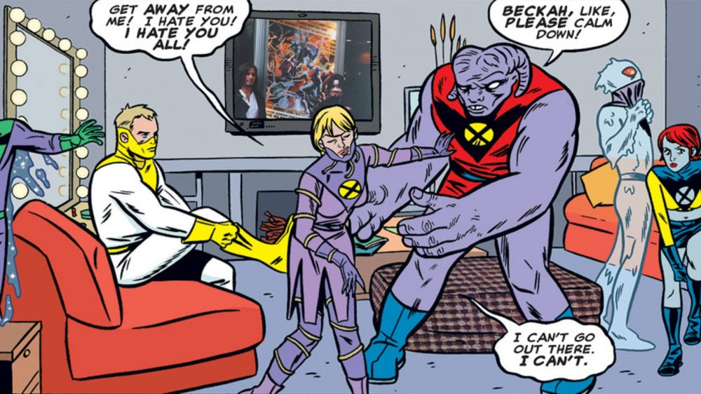 Gin Genie's extremely likeable character being introduced in X-Force #116