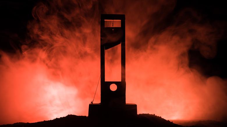A guillotine