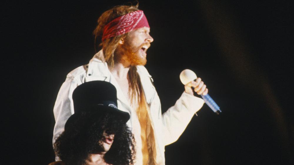 Axl Rose and Slash, 1992