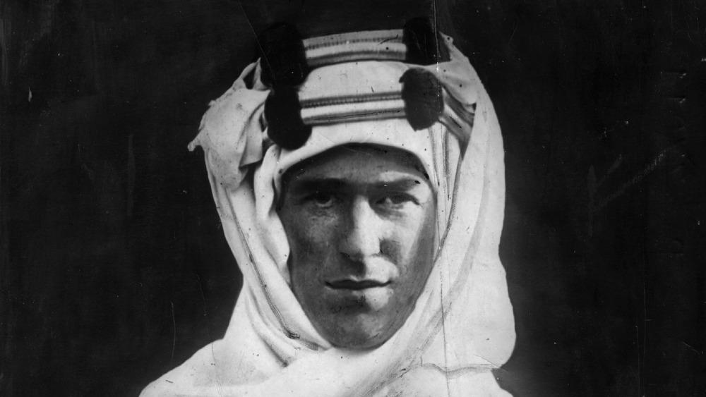 Lawrence of Arabia in 1918