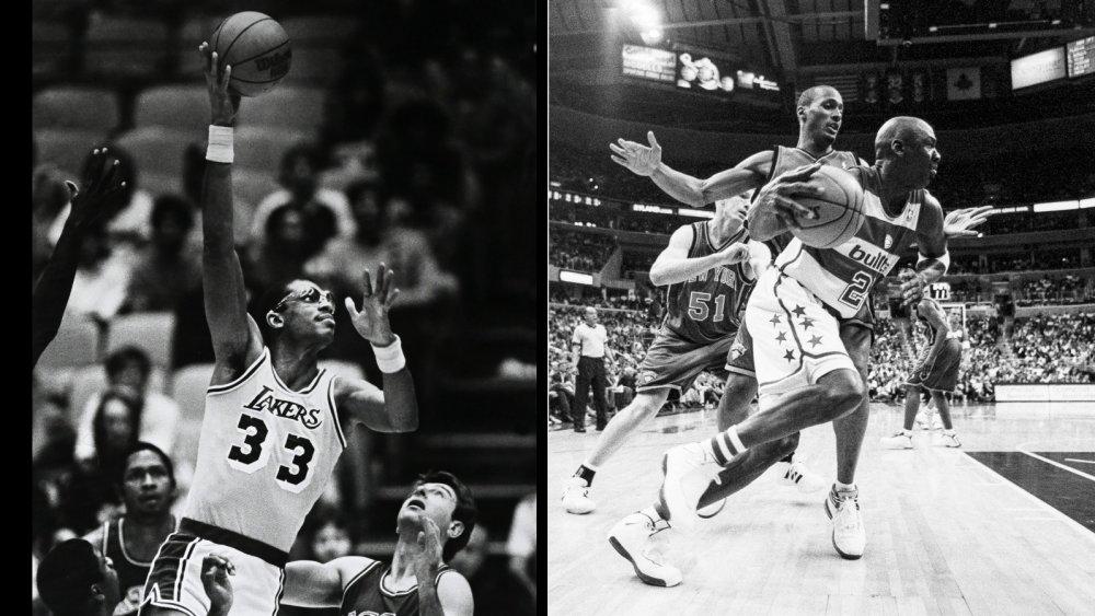 Kareem Abdul-Jabbar Michael Jordan