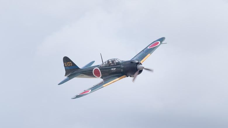 World War II Japanese plane