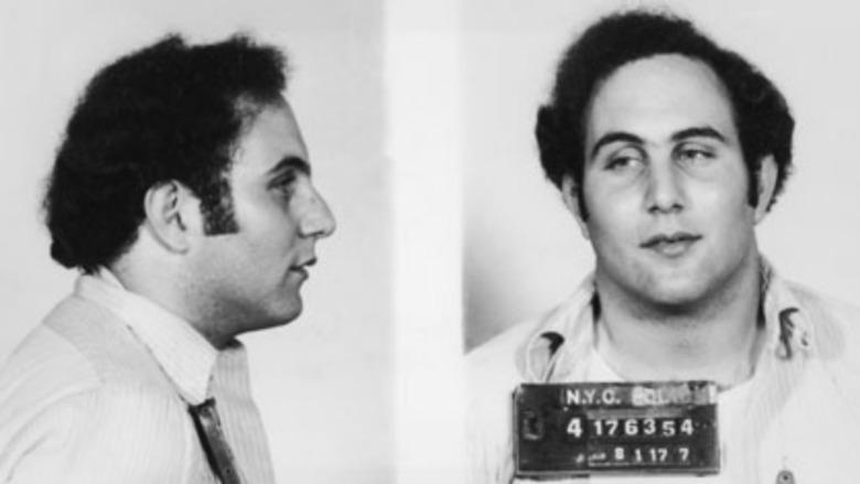 David Berkowitz mug shot, 1977