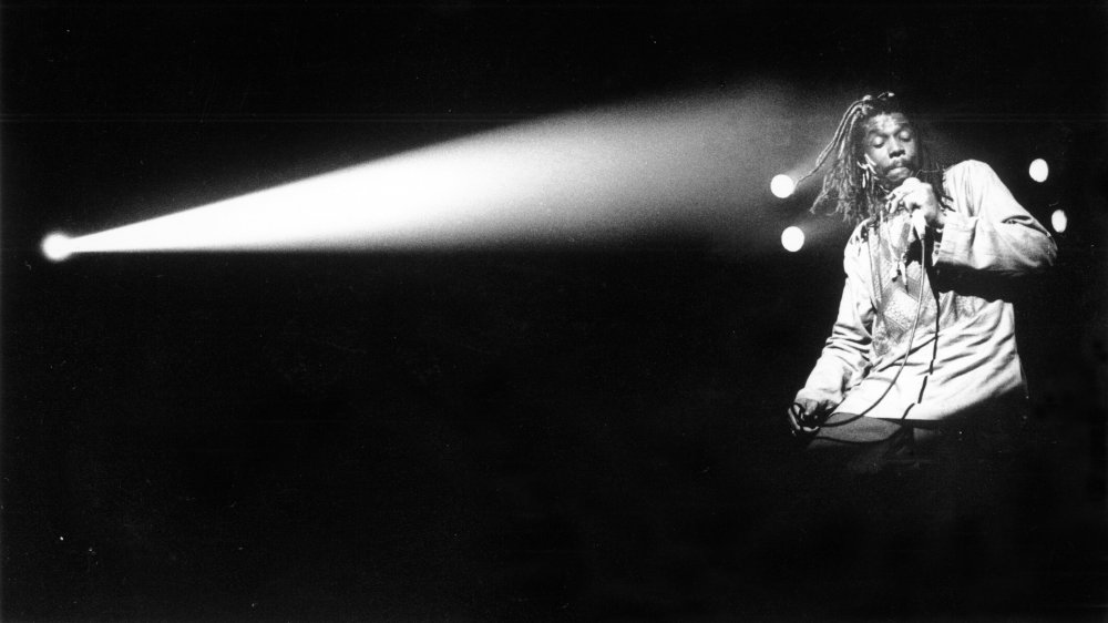 Peter Tosh performing in 1980