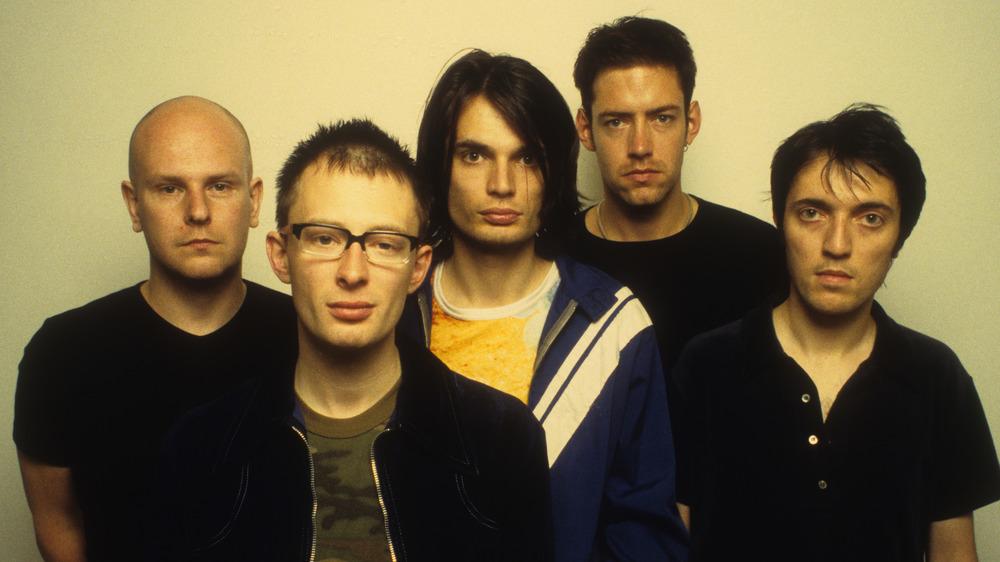 Radiohead group photo