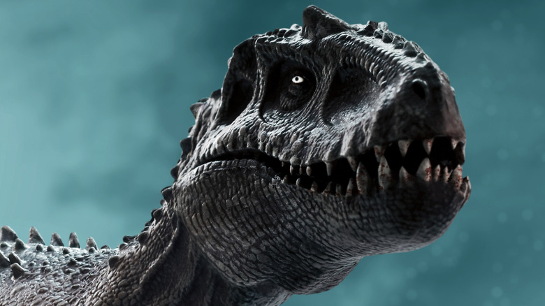 Tyrannosaurus Rex looking hungry
