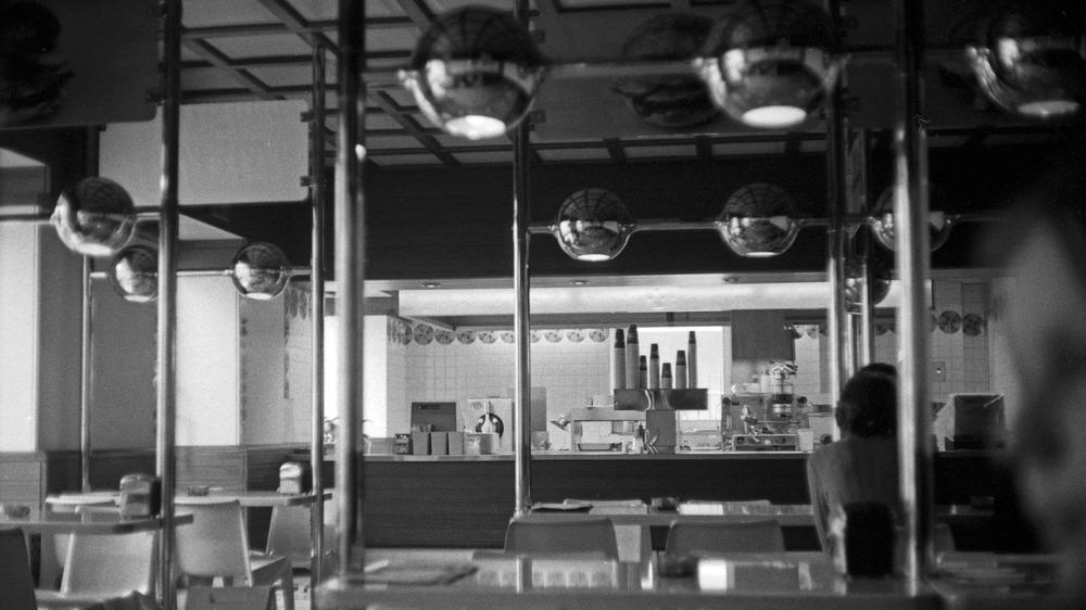 A 1960s burger chef restaurant