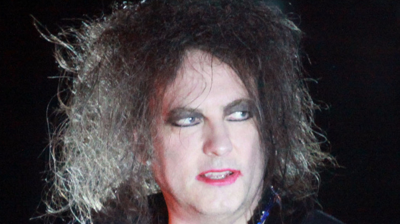 Robert Smith onstage