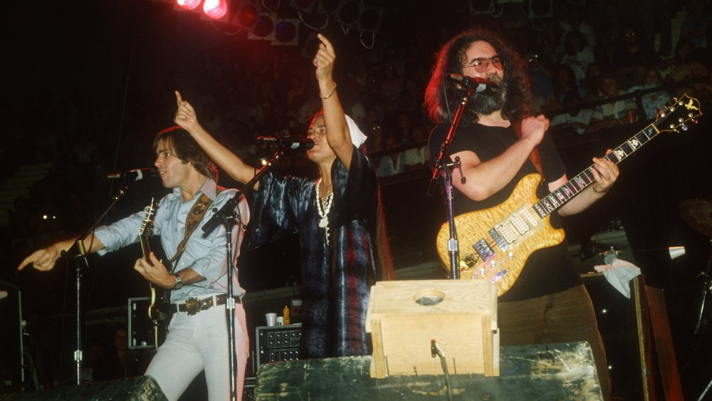 The Grateful Dead performing in their hometown of San Francisco in 1978