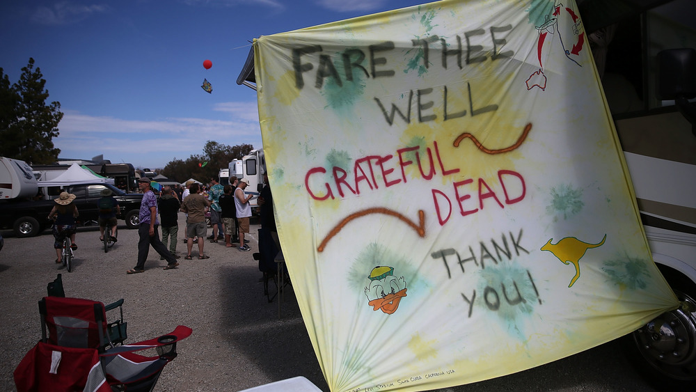 grateful Dead Fare Thee Well sign
