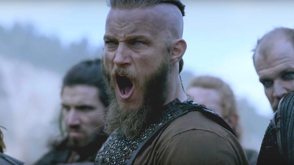 Ragnar Lodbrok in the TV show Vikings