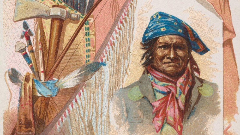 Legendary Apache leader Geronimo
