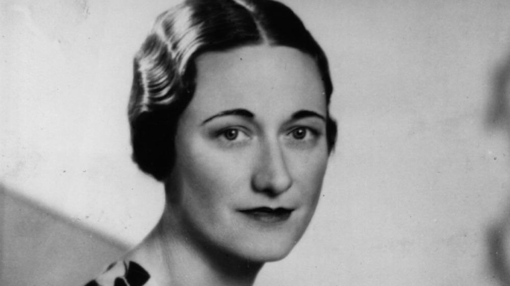 Wallis Simpson smiling