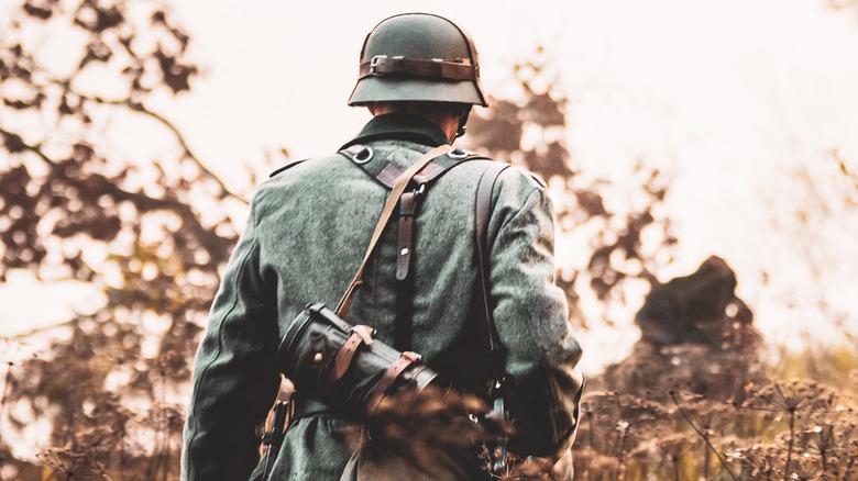 World War II German soldier