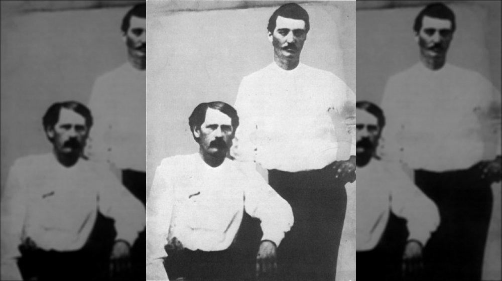 Bat and Wyatt c. 1876